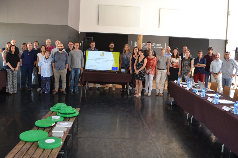 Six month meeting of the NEMOSINE Project
